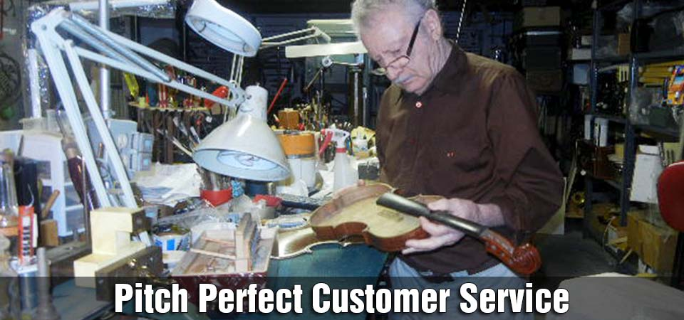Pitch Perfect Customer Service | Vahik fixing violin